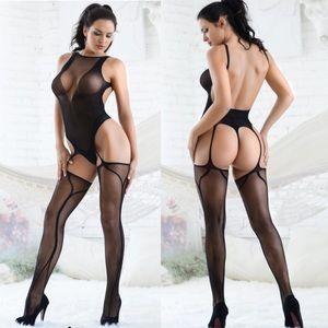 Sandra Sheer Bodystocking